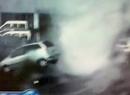 Niewielkie tornado przeparkowało auto